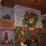 Fireplace in the Main Lobby