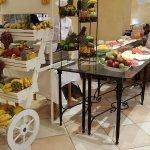 Desayuno Buffet - Fruta natura, corte a la vista