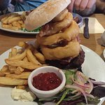 BBQ Burger (this was huge and so very tasty!)