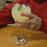 "Marguerita ""on the rocks"" - very tasty"