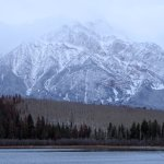 Pyramid Lake and Mountain