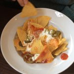 Starters - Nachos (not much sauce)
