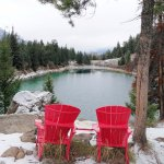 Red Chairs between 3rd and 4th lakes - Valley of the Five Lakes
