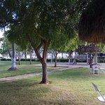 Cercanías de la piscina, bar y restaurante.