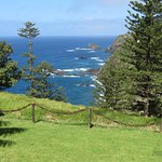 Norfolk Island Coast where Capatain Cook landed in 1774