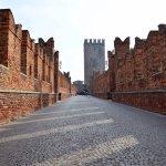 Landmark bridge of Verona city.