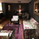 Upstairs lounge.