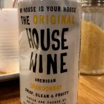 Yes, they do serve wine (and some types NOT in a can, too)