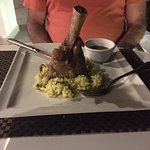 delicious osso buco for dinner at St. Trop