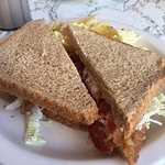 BLT on Wheat Bread (I prefer it not toasted)