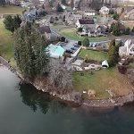 Drone footage of the Lake Pointr Inn