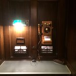 Historic Telephone Booth In The Basement