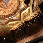 Beautiful ceiling of 5th Avenue Theatre