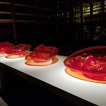 Part of the Chihuly exhibit