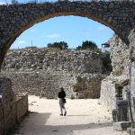 Arch leading to an amphitheater