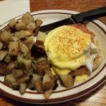 Half order of eggs benedict: oldest son devoured this in record time!