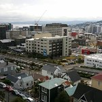 Looking out over Wellington