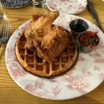 Chicken And Waffles from Southern Kin Cookhouse - Somerville, MA