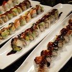 Happy hour sushi!