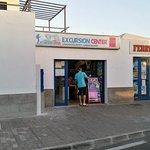 Die Filiale am Hafen in Corralejo