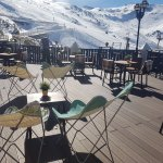 Terraza Snow Man Bar