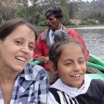 At Kodaikanal lake Boat house.
