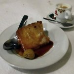 Traditional Chestnut Pudding with cinnamon and orange--so wonderful on a cold winter day!