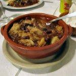 Feijoada à Transmontana – Portuguese Bean Stew served with rice.