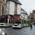 Trams in Erfurt