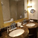 Very friendly and warm staff, extremely clean linens ,very clean, its simply a luxury haven.