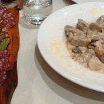 Mixed cold meat appetiser & chestnut gnocchi starter