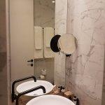 Modern bathroom amenities