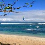 Kingfisher beach, spot and kites