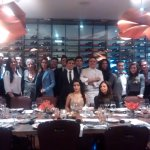 Grupo de estudiantes de la Escuela de Gastronomía Mariano Moreno