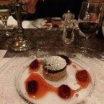 Candlelight Dinner Nachtisch - Pralinenparfait