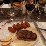 Candlelight Dinner Nachtisch - Hauptspeise Fleisch