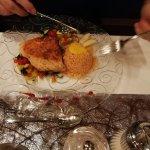 Candlelight Dinner Nachtisch - Hauptspeise Fisch