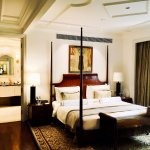 Bedroom in the Presidential suite