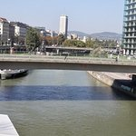 Motto am Fluss Foto