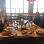 Family breakfast at The Dillard House!