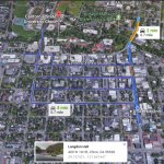 Map : Motel  to Chico State