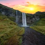 Iceland has thousands of waterfalls, each more beautiful than the last.