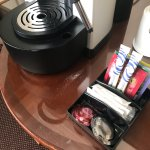 Dirty coffee area