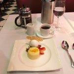 Lemon Pudding Cake dessert ad coffee