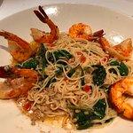 Capellini with Shrimp