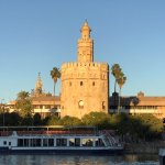 Torre del Oro- best viewed from the other side of the river, at sunset, when it is truly golden.