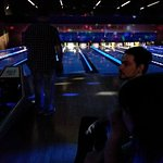 Lazer Bowling open during the evening hours.