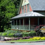 The Carriage House in Forest Park is a meeting place and park administration building - Springfi