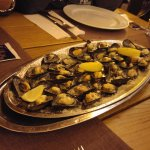 mussels with cheese - the best