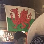 Good to see our native flag at wings